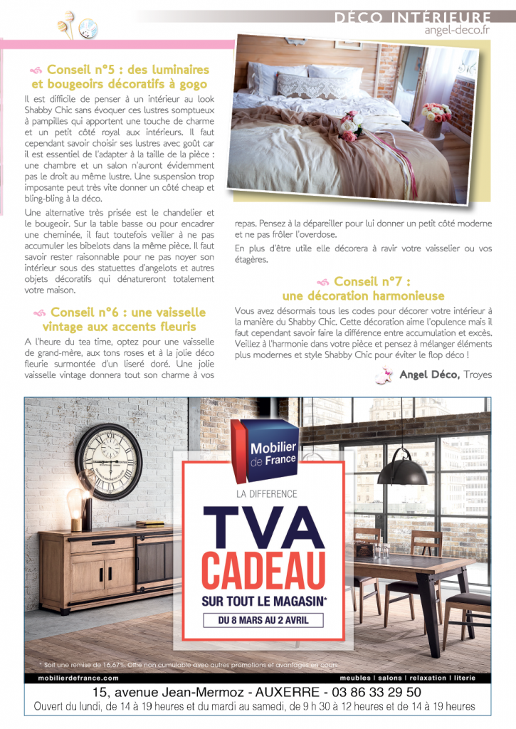Magazine Co'coon – Article du mois de mars
